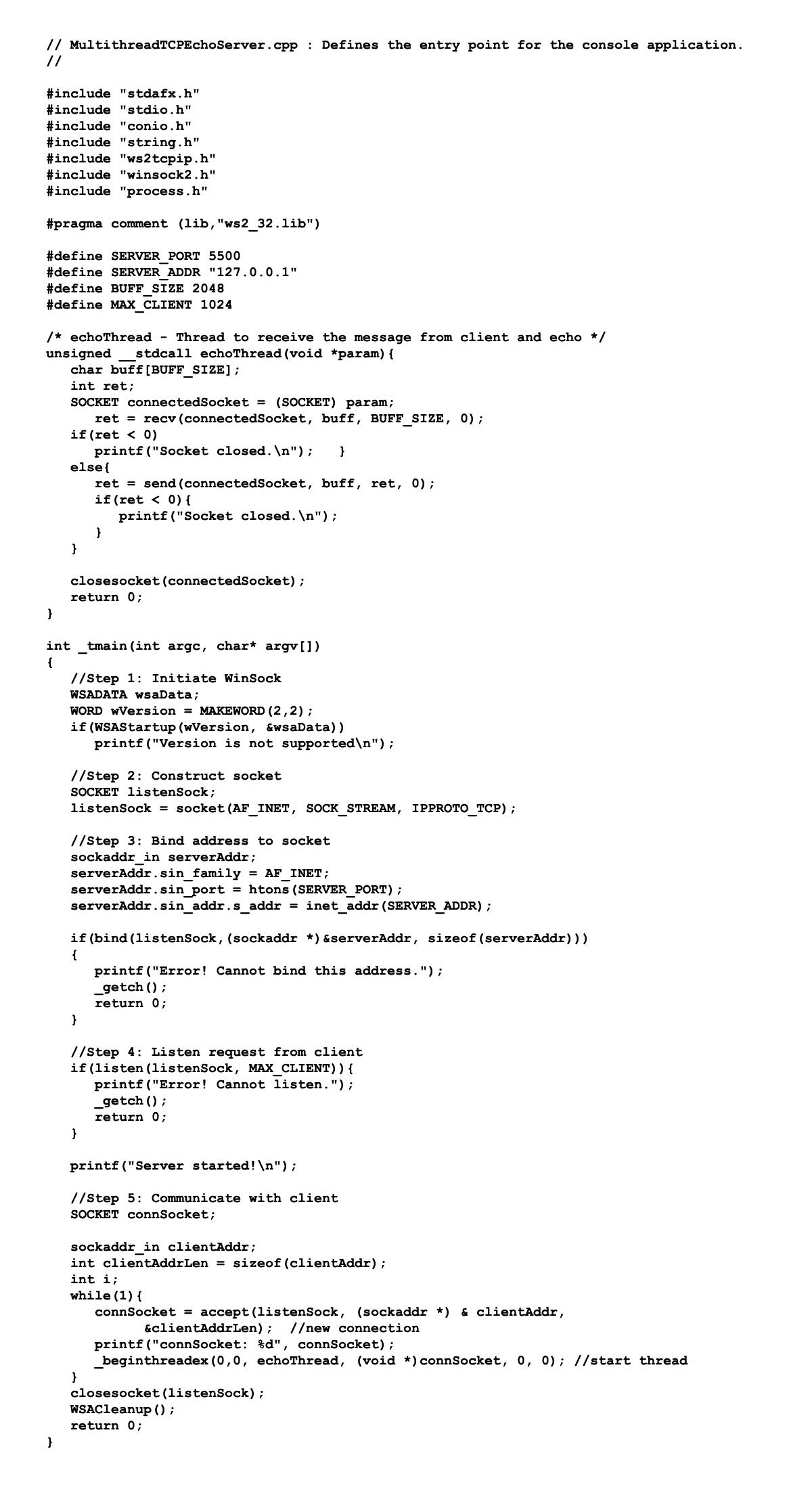 IT4060: Lập trình mạng